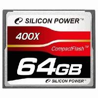 Карта памяти Silicon Power 64GB SP064GBCFC400V10