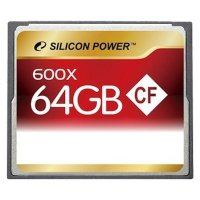 Карта памяти Silicon Power 64GB SP064GBCFC600V10