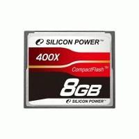 Карта памяти Silicon Power 8GB SP008GBCFC400V10