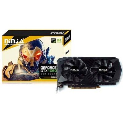 видеокарта Sinotex nVidia GeForce GTX 1060 3Gb NK106FG35F