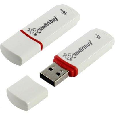 флешка SmartBuy 16GB SB16GBCRW-W