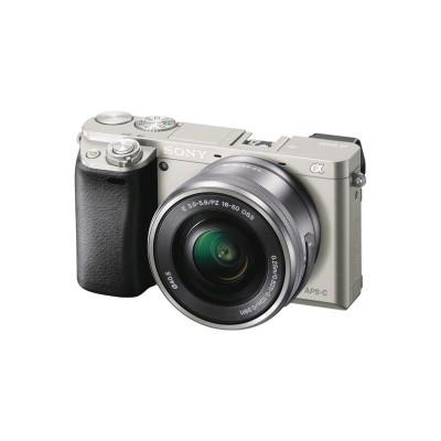 фотоаппарат Sony Alpha DSLR-A6000 Silver ILCE6000LS