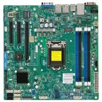 материнская плата SuperMicro MBD-X10SLM-F-B