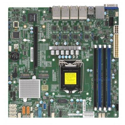 материнская плата SuperMicro MBD-X11SCM-LN8F-O