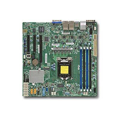 материнская плата SuperMicro MBD-X11SSH-LN4F-O