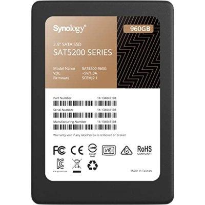 SSD диск Synology 960Gb SAT5200-960G