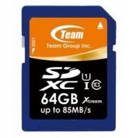 Карта памяти Team Group 64GB TSDXC64GU8501
