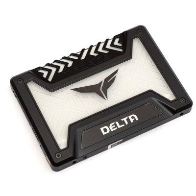 SSD диск Team Group Delta RGB 250Gb T253TR250G3C313