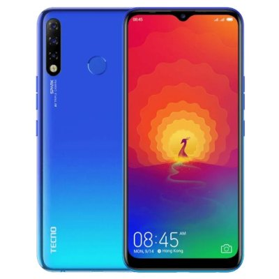 смартфон Tecno KC8 Spark 4 Vacation Blue
