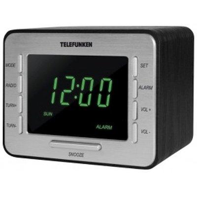 радиочасы Telefunken TF-1508 Black