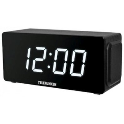 радиочасы Telefunken TF-1566U Wood-White