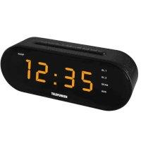 Радиочасы Telefunken TF-1573 Black-Amber