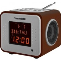 Радиочасы Telefunken TF-1575U Dark Wood
