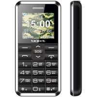 Мобильный телефон Texet TM-101 Black