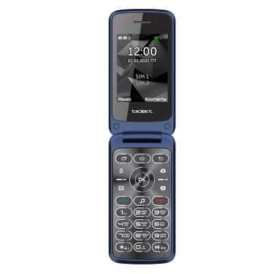 мобильный телефон Texet TM-408 Blue
