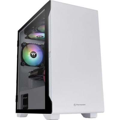 корпус Thermaltake S100 TG CA-1Q9-00S6WN-00 White