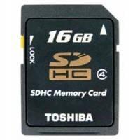Карта памяти Toshiba 16GB SD-K16GJBL5