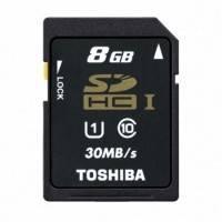 Карта памяти Toshiba 16GB SD-T016UHS1BL5