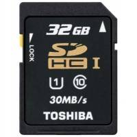 Карта памяти Toshiba 32GB Class10 SD-T032UHS1 BL5 UHS-1