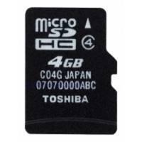 Карта памяти Toshiba 4GB Class 4 SD-C04GJ BL5A
