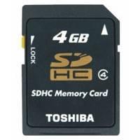 Карта памяти Toshiba 4GB SD-K04GJ BL5
