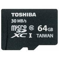 Карта памяти Toshiba 64GB SD-C064UHS1BL5A