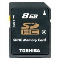 Карта памяти Toshiba 8GB SD-K08GJ BL5