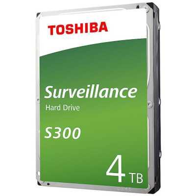 жесткий диск Toshiba S300 Surveillance 4Tb HDWT840UZSVA