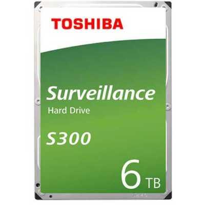 жесткий диск Toshiba S300 Surveillance 6Tb HDWT860UZSVA