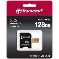 Карта памяти Transcend 128GB TS128GUSD500S