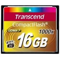 Карта памяти Transcend 16GB TS16GCF1000