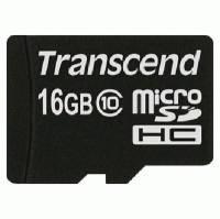 Карта памяти Transcend 16GB TS16GUSDC10