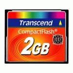 Карта памяти Transcend 2GB CompactFlash TS2GCF133