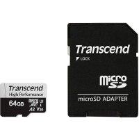 Карта памяти Transcend 61GB TS64GUSD330S