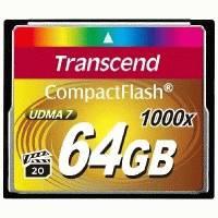 Карта памяти Transcend 64GB TS64GCF1000