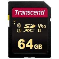 Карта памяти Transcend 64GB TS64GSDC700S