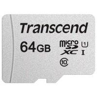 Карта памяти Transcend 64GB TS64GUSD300S-A