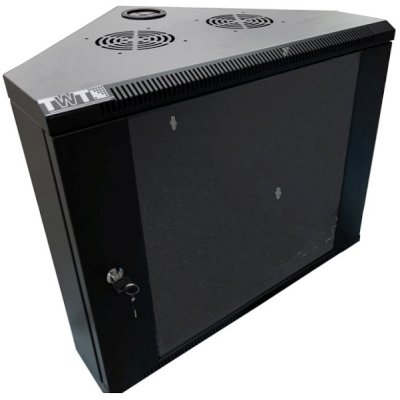 телекоммуникационный шкаф TWT TWT-CBWTG-9U-6x4-BK