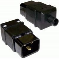Вилка Lanmaster LAN-IEC-320-C20