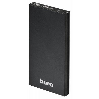 внешний аккумулятор Buro RA-12000-AL-BK