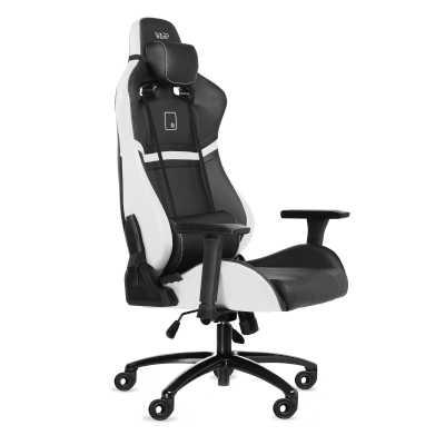 игровое кресло WARP Gr Black/White