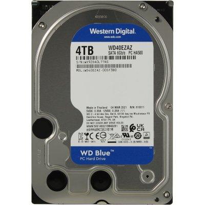 жесткий диск WD Blue 4Tb WD40EZAZ