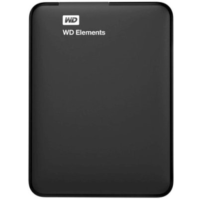 жесткий диск WD Elements Portable 1Tb WDBMTM0010BBK-EEUE