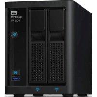 Сетевое хранилище WD MY Cloud Pro WDBVND0040JBK-EEUE