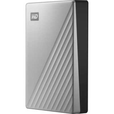 жесткий диск WD My Passport Ultra 4Tb WDBPMV0040BSL-WESN
