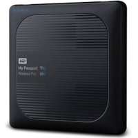 Жесткий диск WD My Passport Wireless Pro 4Tb WDBSMT0040BBK-RESN