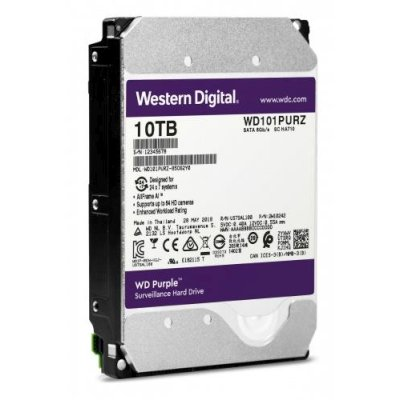 жесткий диск WD Purple 10Tb WD101PURZ