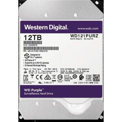 жесткий диск WD Purple 12Tb WD121PURZ