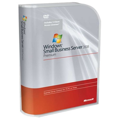 операционная система Microsoft Windows Small Business Server Premium 2008 T75-02575