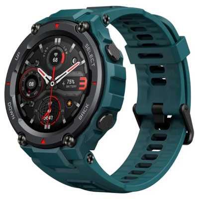 умные часы Xiaomi Amazfit T-Rex Pro Blue